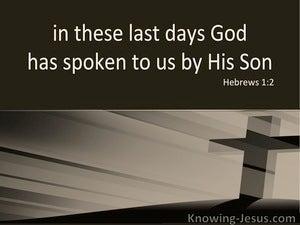 Hebrews 1:2