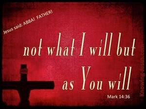 Mark 14:36