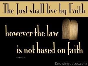 Galatians 3:12