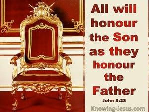 John 5:23