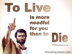 Philippians 1:24