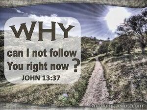 John 13:37