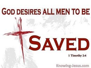 1 Timothy 2:4