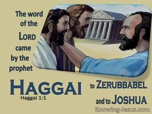 Haggai 1:1