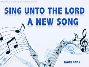 Isaiah 42:10