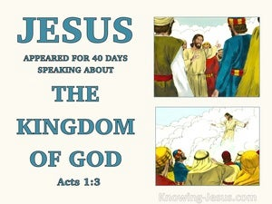 Acts 1:3