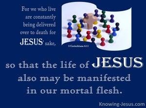 2 Corinthians 4:11