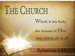 Ephesians 1:23