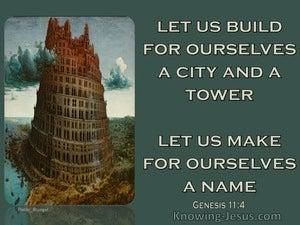Genesis 11:4