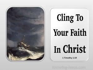1 Timothy 1:19