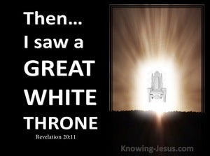 Revelation 20:11