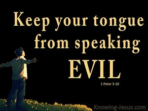 1 Peter 3:10