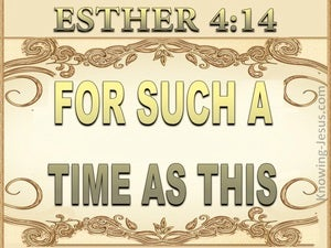 Esther 4:14