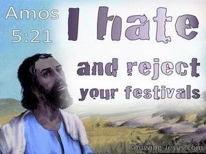 Amos 5:21