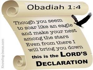 Obadiah 1:4