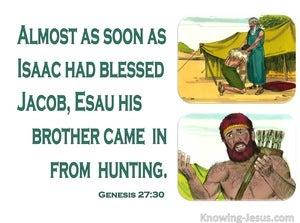 Genesis 27:30