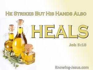 Job 5:18