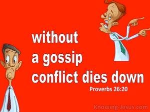 Proverbs 26:20