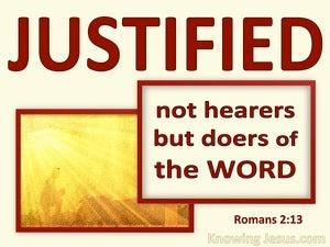 Romans 2:13