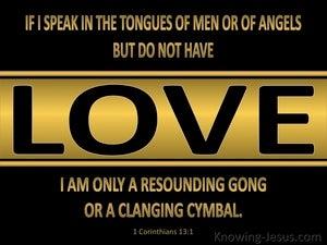 1 Corinthians 13:1