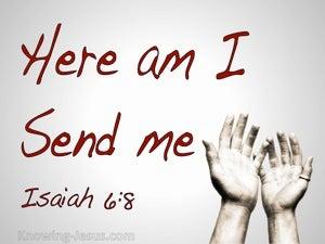 Isaiah 6:8