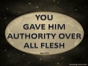 John 17:2