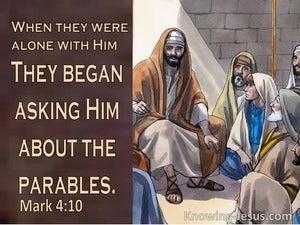 Mark 4:10