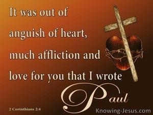 2 Corinthians 2:4
