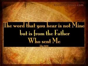 John 14:24