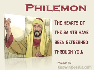 Philemon 1:7