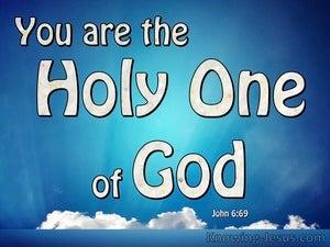 John 6:69