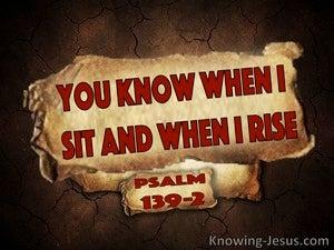 Psalm 139:2