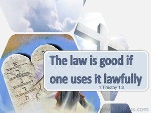 1 Timothy 1:8