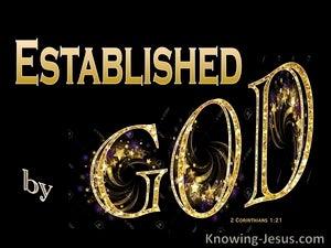 2 Corinthians 1:21