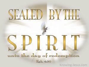 Ephesians 4:30