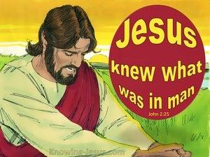 John 2:25