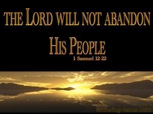 1 Samuel 12:22