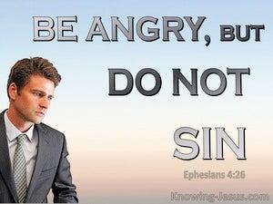 Ephesians 4:26