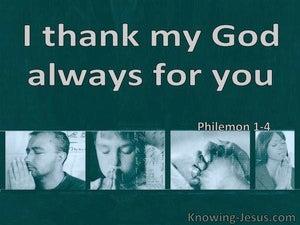 Philemon 1:4