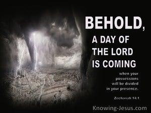 Zechariah 14:1