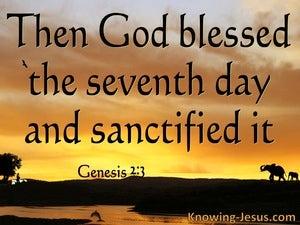 Genesis 2:3