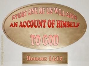 Romans 14:12