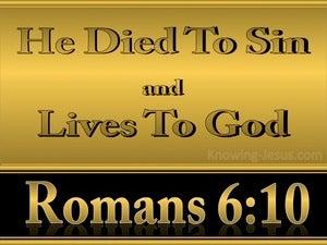 Romans 6:10