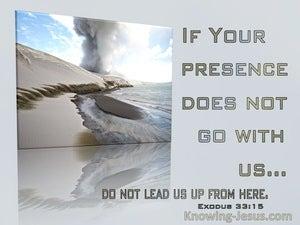 Exodus 33:15