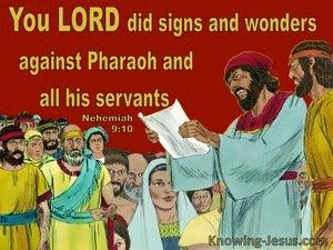Nehemiah 9:10