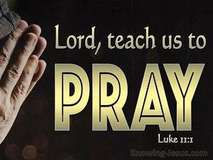 Luke 11:1