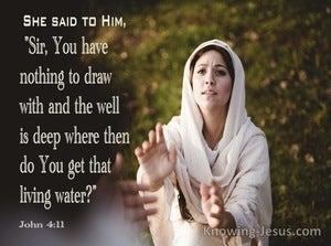 John 4:11