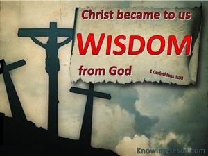 1 Corinthians 1:30
