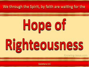 Galatians 5:5