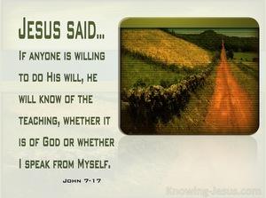 John 7:17